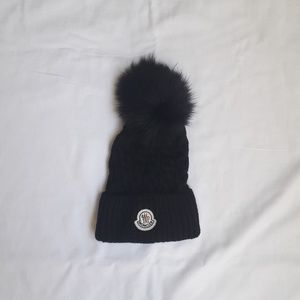 Moncler kids beanie hat